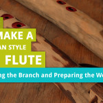 How to Make Branch Flute – Part 3: Splitting the Branch and Preparing the Workspace