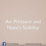 Air Pressure and Playing Notes (Video)