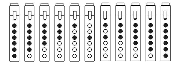 Pentatonic Scale - Tablature Exercise