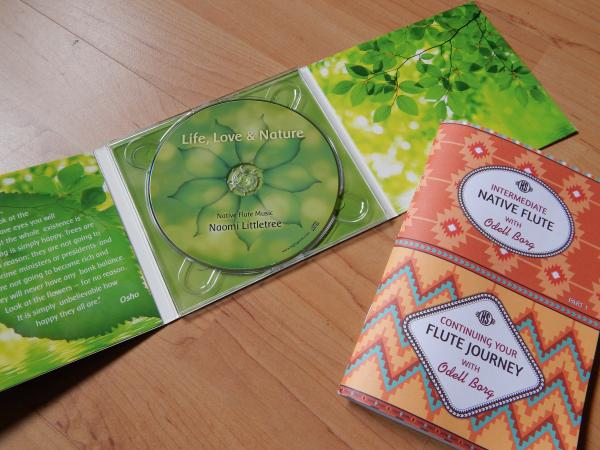 High Spirits Package - Instructions Booklet and Naomi's Littletree CD.