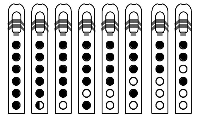 Chromatic Scale for Native American Flute